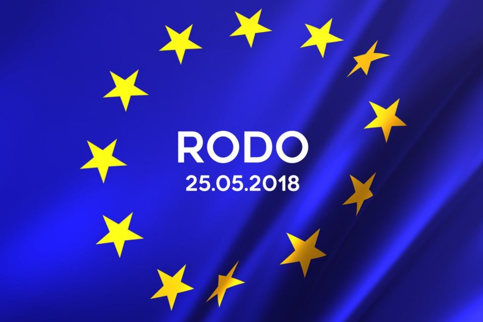 logo UE, RODO